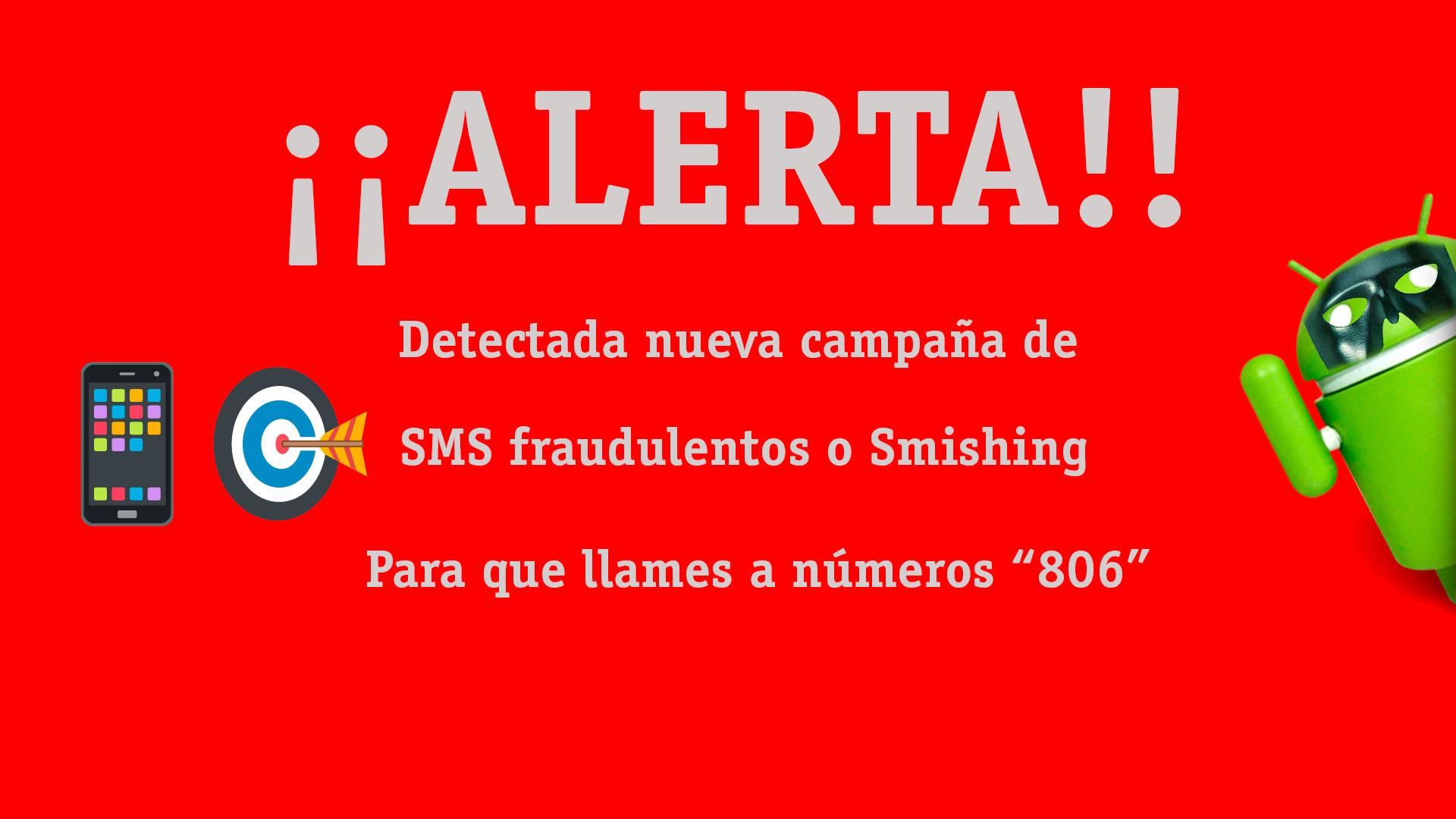 SMS fraudulentos o Smishing
