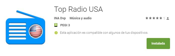 Mejor app para escuchar la radio de USA