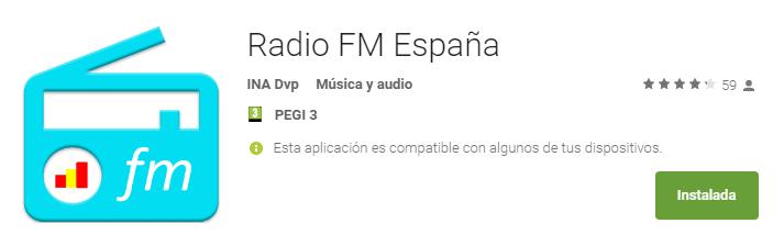 Mejor app android para escuchar la radio de España
