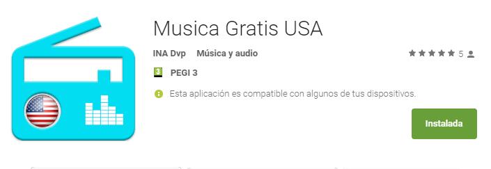 Mejor app android para escuchar música online gratuita.
