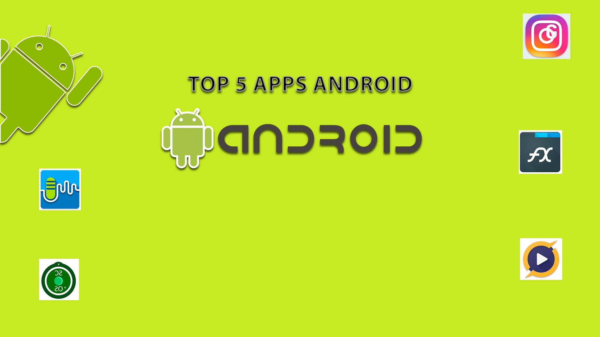 top 5 mejores apps android de la semana i. Black Bedroom Furniture Sets. Home Design Ideas