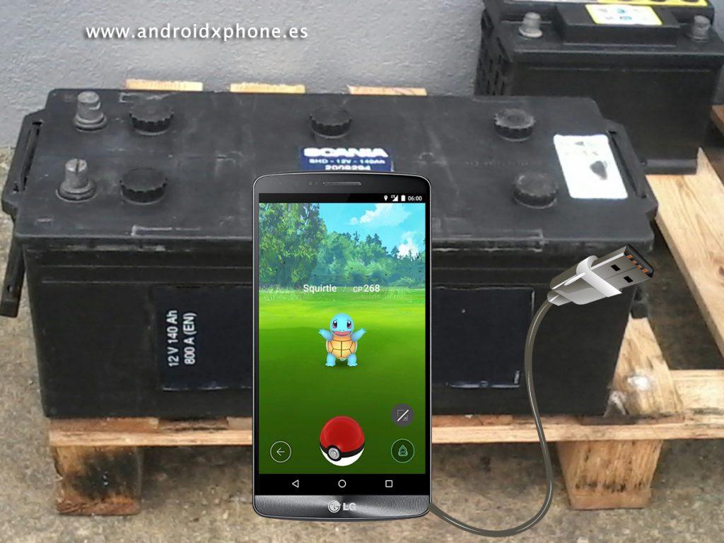 batería extra para pokemon go