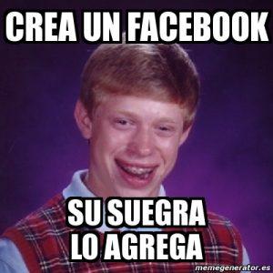 suegra en facebook meme